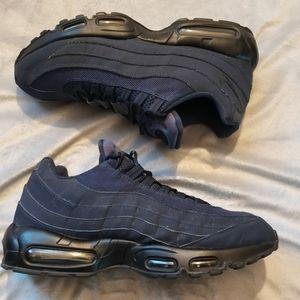 Nike Airmax 95 Mono Blue sneakers Sz 12